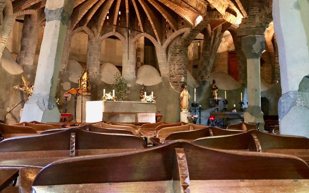Best kept secret: Gaudí´s Crypt in Colonia Guëll